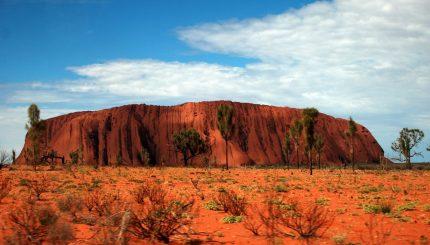 Uluru in central Australia